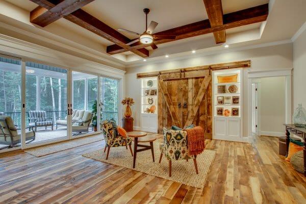 Reclaimed Wood Barn Doors