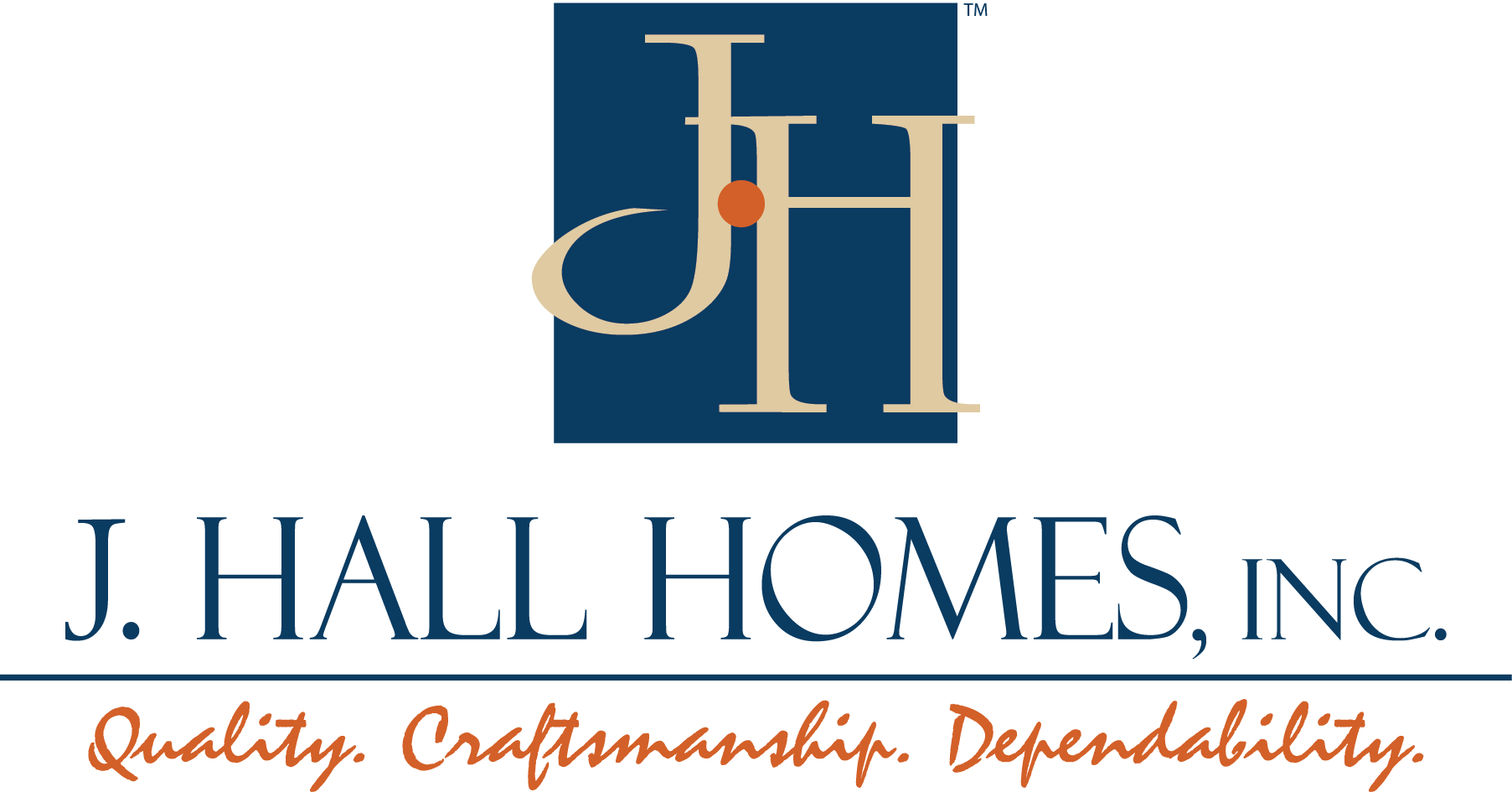 J. Hall Homes Logo
